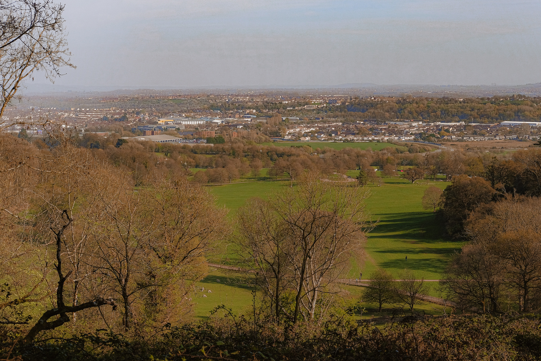 View over Ashton Court
