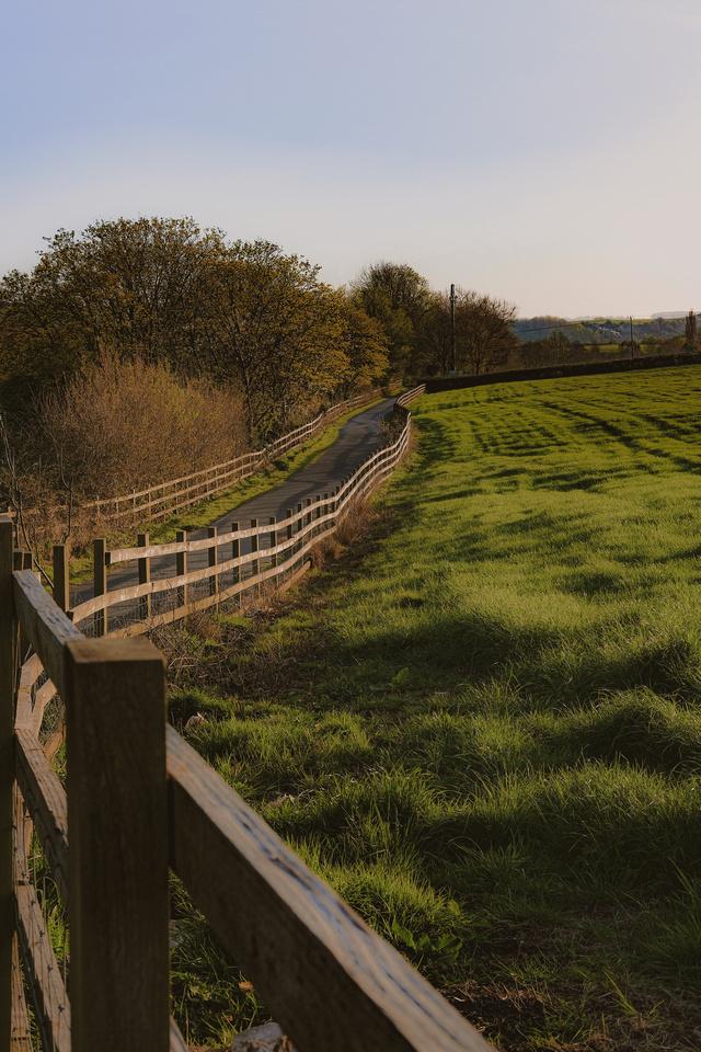 prints of Bristol | the footpath to Long Ashton's All Saints Church