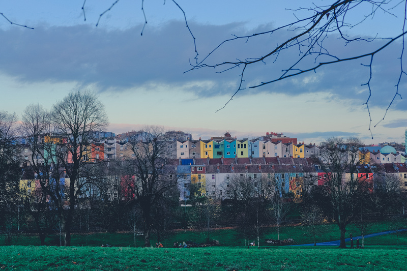 Is there anything prettier than a row of colourful houses?