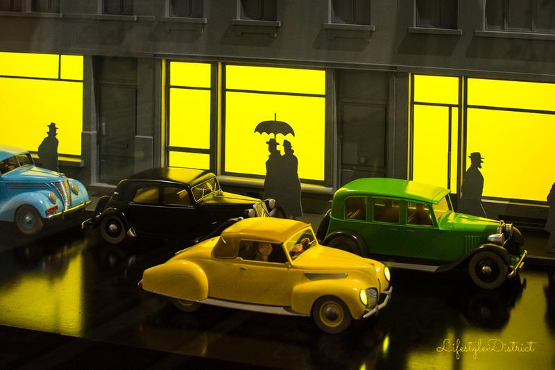 Lifestyle District | Bristol culture & photography blog: Tintin at Somerset House &emdash; DSC_5399-2