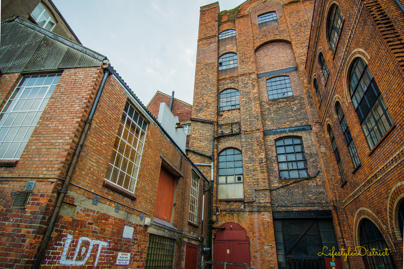 Walking around Bristol Harbour is a fantastic way to discover the industrial buildings by the water