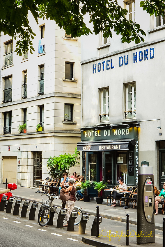 The famous Hotel du Nord on the Canal Saint Martin in Paris   Lifestyle District