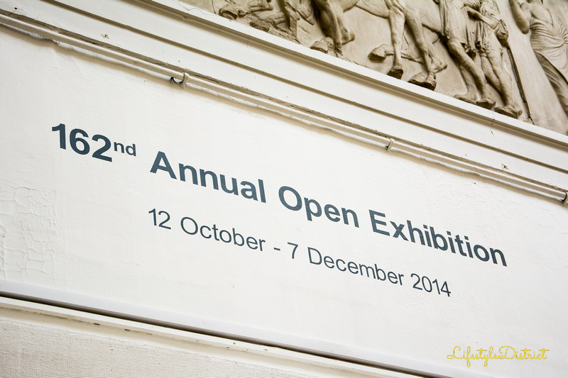 Annual Exhibition at the Royal West of England Academy Bristol. Photo by Virginia Allwood, LeShopUK.com