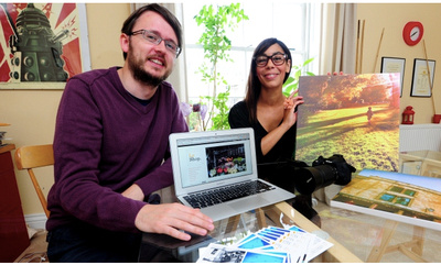 Photographer Virginia Allwood and journalist Daniel Martin run Le Shop UK where they offer event, portrait and wedding photography as well as content writing and event hosting services.