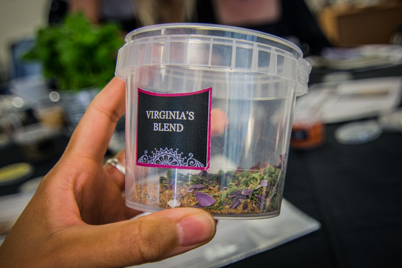 The masterclass offered us the chance to create our very own blend using Bart spices