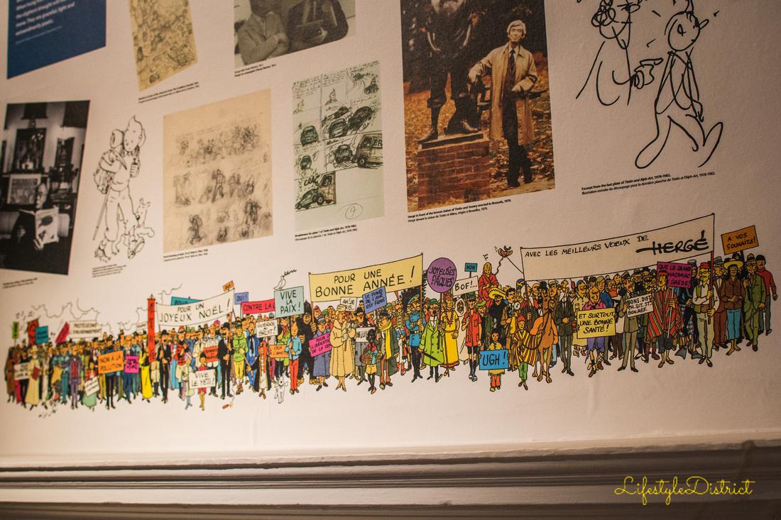 Lifestyle District | Bristol culture & photography blog: Tintin at Somerset House &emdash; DSC_5406-2