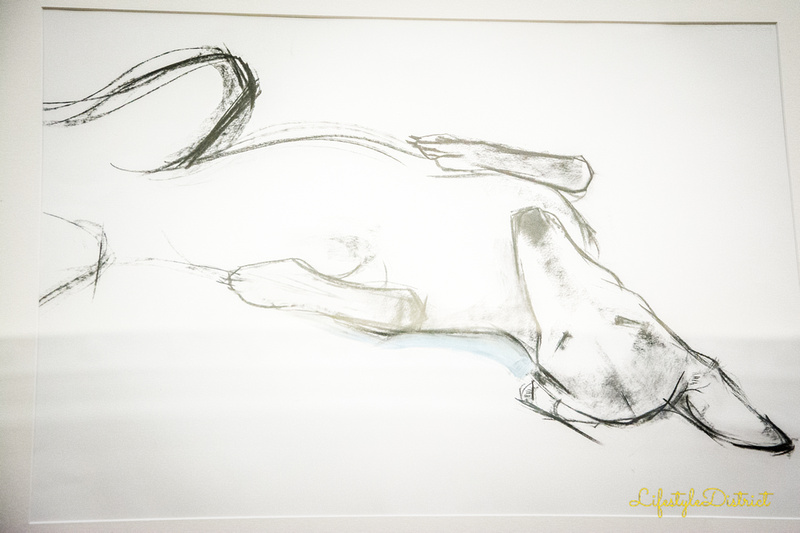The Lurcher by Sally Muir at the Annual Exhibition at the Royal West of England Academy Bristol. Photo by Virginia Allwood, LeShopUK.com