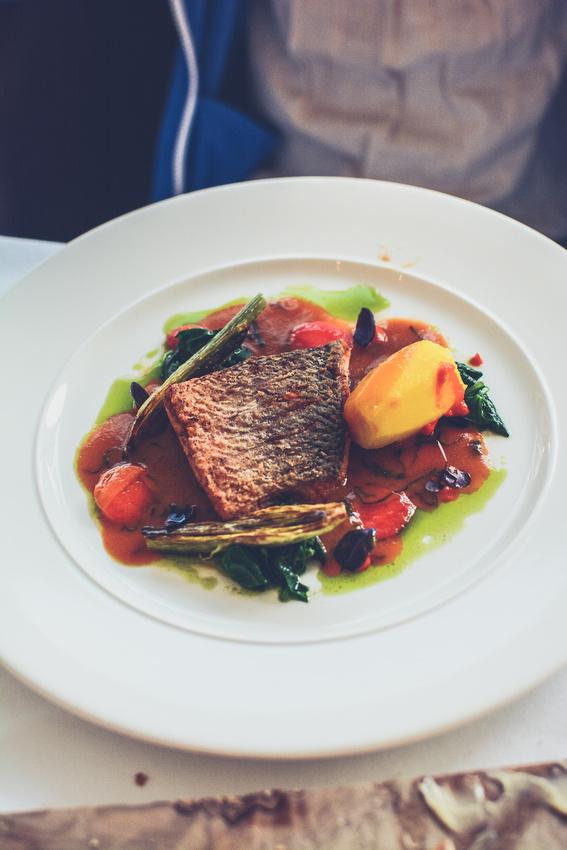 Fabulous dinner by John Burton-Race at the Grosvenor Torquay