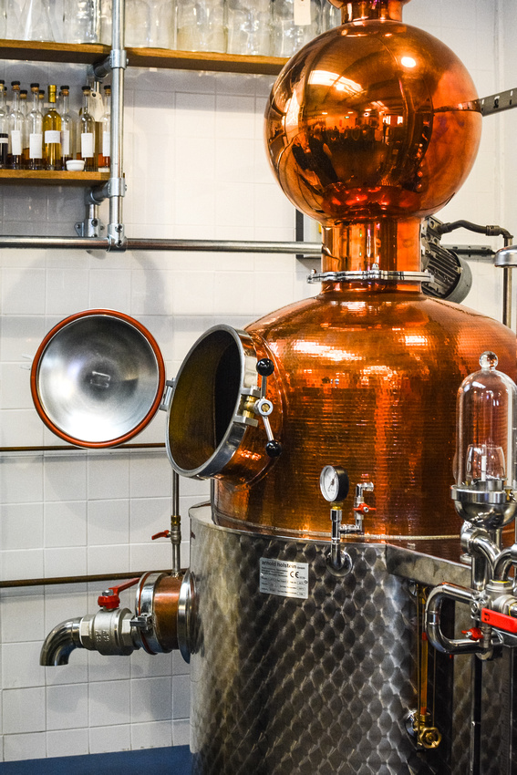 We discovered Kathleen, the 6 o'clock giin copper still