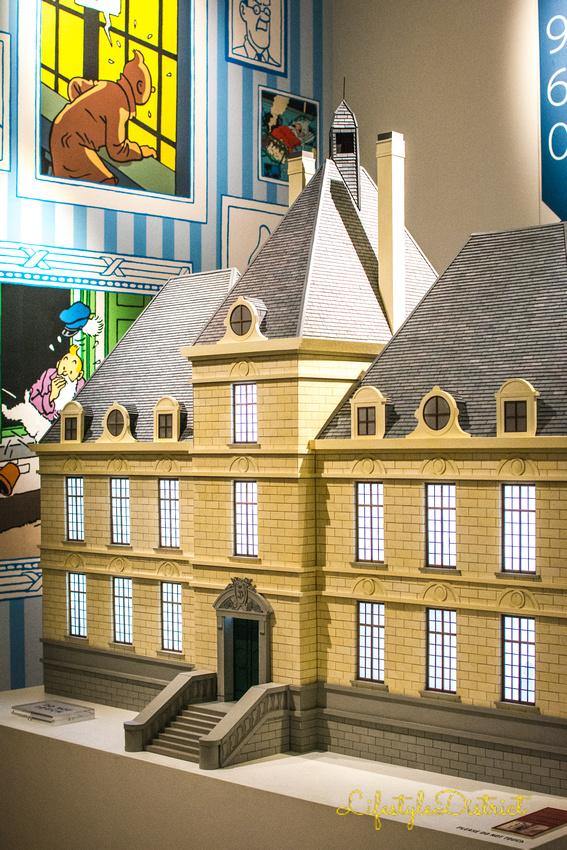 Lifestyle District | Bristol culture & photography blog: Tintin at Somerset House &emdash; DSC_5402-2